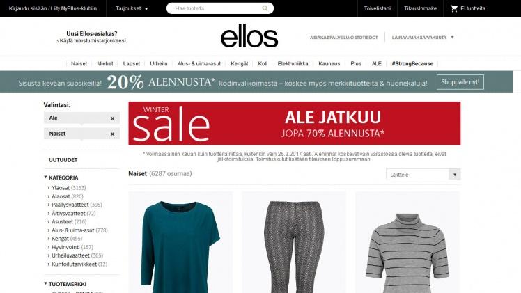 suomalaiset vaatekaupat netissä Kerava