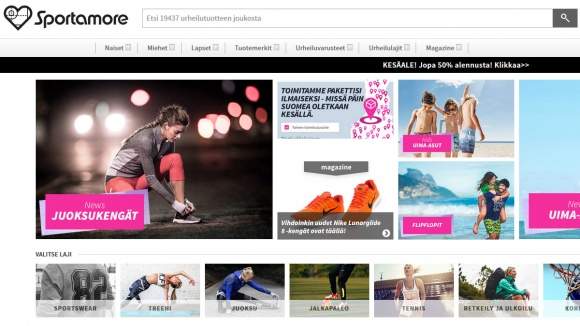 Sportamore kokemuksia & alennuskoodeja •